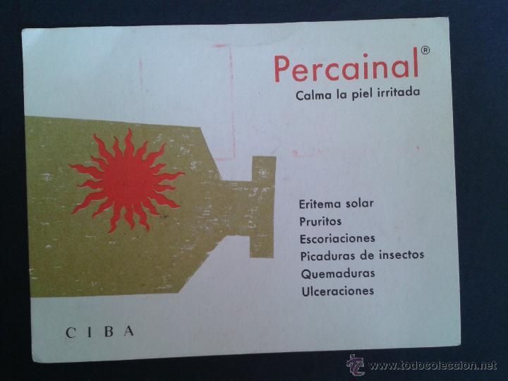 TARJETA POSTAL COMERCIAL. PERCAINAL. BARCELONA. (Sellos - España - Tarjetas)