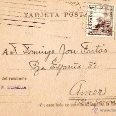 Sellos: . TARJETA POSTAL HIJO DE P.COMELLA. Lote 43701836