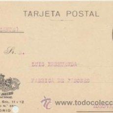 Sellos: TARJETA CON MEMBRETE DE MADRID A MONOVAR DEL 26 - 3- 1926. CON EDIFIL 315.. Lote 43783314