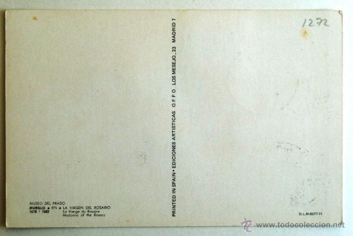 Tarjeta murillo la virgen del rosario matase comprar tarjetas sellos tarjeta murillo la virgen del rosario matasellos malaga 1977 foto thecheapjerseys Choice Image