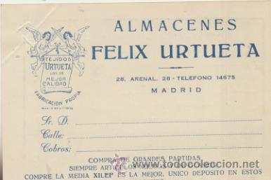 TARJETA CON MEMBRETE DE MADRID A MADRID DEL 14 NOV. 1945. (Sellos - Extranjero - Tarjetas)
