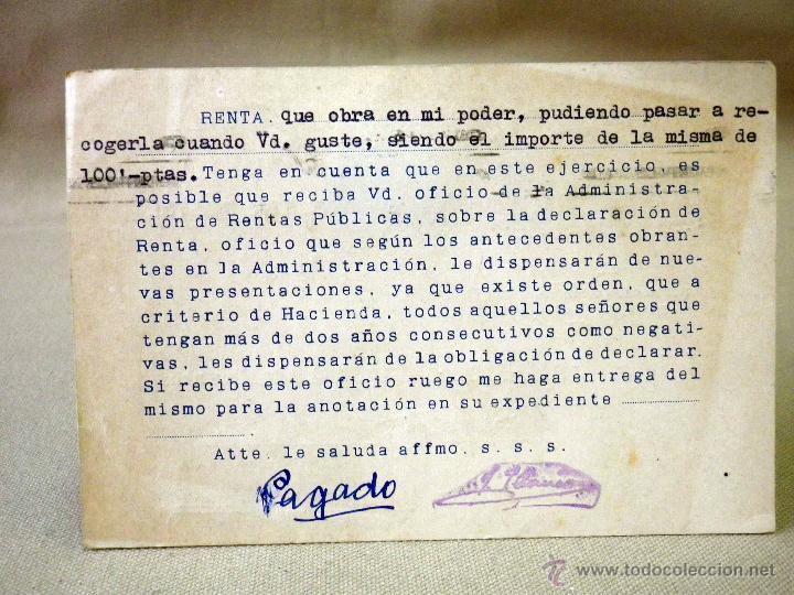 Sellos: TARJETA POSTAL, COMERCIAL, GESTORIA AUTOMOVILISTICA IBAÑEZ, VALENCIA - Foto 4 - 46721896