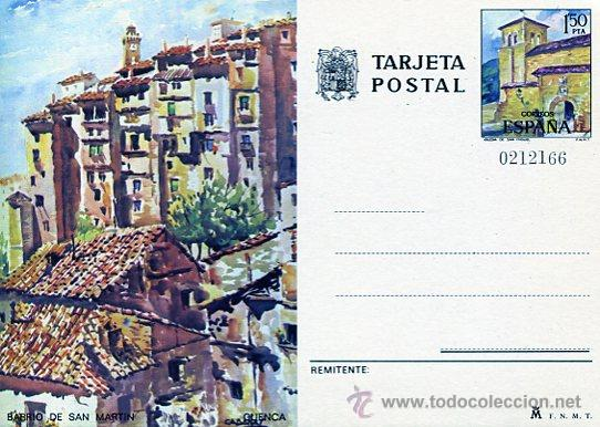 CUENCA (Sellos - Extranjero - Tarjetas)