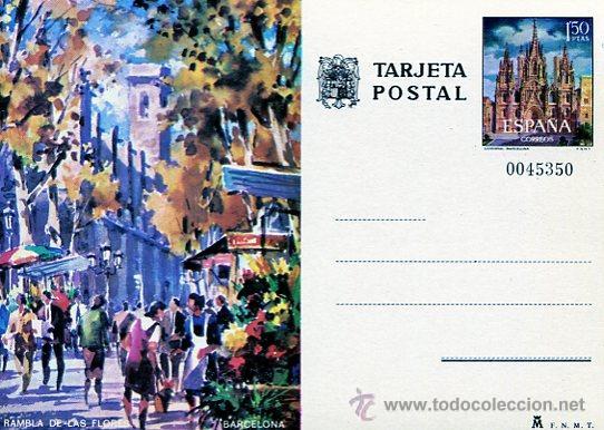 BARCELONA (Sellos - Extranjero - Tarjetas)