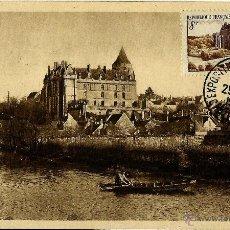 Sellos: FRANCIA 1950- YV 0873 [CASTILLO DE CHATEAUDUN] (TARJETA MÁXIMA). Lote 50706158