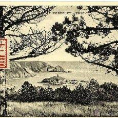 Sellos: JERSEY 1943- YV OCUPACION ALEMANA 4 [PORTELET JERSEY] (TARJETA MÁXIMA). Lote 51130941