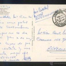 Timbres: TP CIRCULADA SIN SELLO. FECHADOR *TORREMOLINOS. MÁLAGA. 18 ABRIL 1970*. Lote 51339251