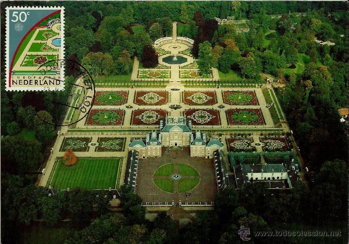 Holanda 1986 yv 1262 jardines y palacio barro comprar for Jardines barrocos