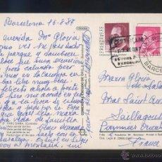 Timbres: TP CIRCULADA MATASELLOS FECHADOR Y CERTIFICADO *SUCURSAL 17. BARCELONA* AÑO 1987. . Lote 53473752