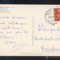 Stamps - TP matasellos *Correo Aéreo Aeropuerto Barcelona. 30 Sep. 63* - 53810103