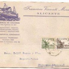 Francobolli: ALICANTE. AGENCIA DE ADUANAS. Lote 54577530