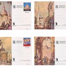 Selos: ESPAÑA 1975. TARJETAS ENTERO POSTALES. EXPOSICION MUNDIAL DE FILATELIA Nº 107 - 110 VISTAS DE MADRID. Lote 121520796