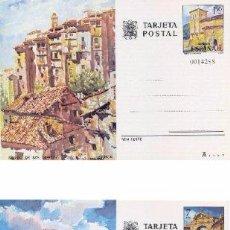 Selos: ESPAÑA 1975. TARJETAS ENTERO POSTALES. TURISMO Nº 111 - 112. CUENCA Y JAEN.. Lote 57538618