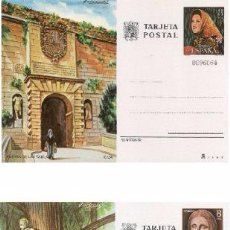 Sellos: ESPAÑA 1978. TARJETAS ENTERO POSTALES. TURISMO Nº 117 - 118. IBIZA Y SEVILLA. Lote 95703314
