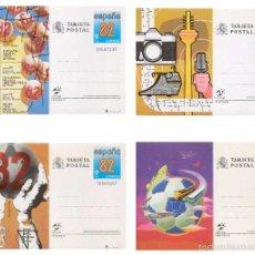 Sellos: ESPAÑA 1982. COPA MUNDIAL DE FUTBOL. Nº 129 - 132.. Lote 95703108