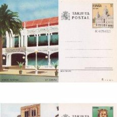 Sellos: ESPAÑA 1985. TARJETAS ENTERO POSTALES. TURISMO Nº 139 - 140. LA CORUÑA Y GERONA.. Lote 95703235