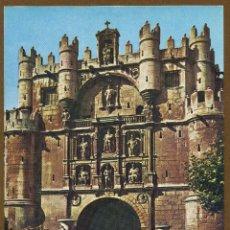 Sellos: POSTAL – SERIE TURISTICA BURGOS ARCO Y PUERTA DE STA. MARIA 1965. Lote 57387969