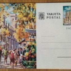 Sellos: TARJETA POSTAL - BARCELONA - RAMBLA DE LAS FLORES. Lote 58372962