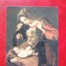 Sellos: SAGRADA FAMILIA - MADRIGAL DE LAS ALTAS TORRES - ISABEL I DE CASTILLA. Lote 58806956