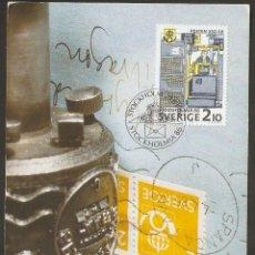 Sellos: SUECIA. CARTA MÁXIMA. 1986. MK Nº 31. Lote 60666875