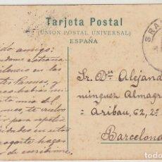 Sellos: SELLO 243. ALFONSO XIII. GRANADA A BARCELONA. 1909. Lote 64662847