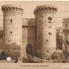 Sellos: TARJETA POSTAL ANTIGUA CIRCULADA DE VALENCIA 9-5-42. Lote 66040282