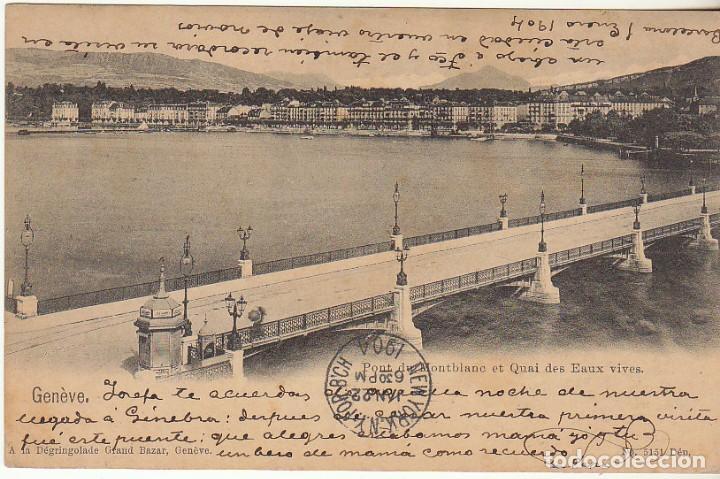SELLO 243. BARCELONA A PUERTO RICO (SAN JUAN). 1904. (Sellos - España - Tarjetas)