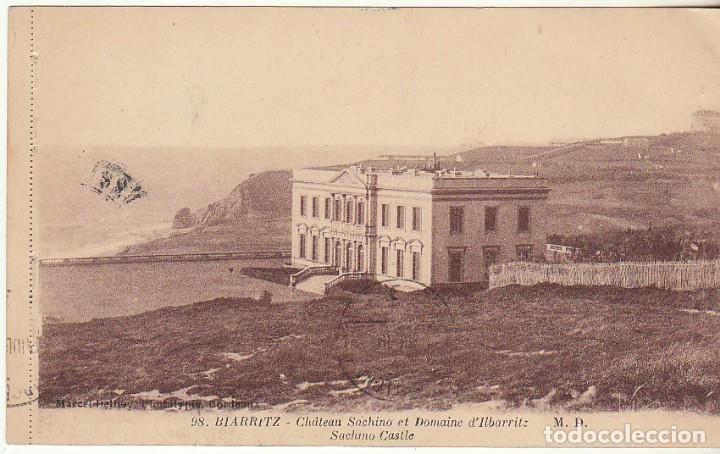 SELLO 219 . A BARCELONA . 1919. (Sellos - España - Tarjetas)