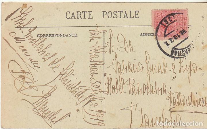 Sellos: sello 219 . a BARCELONA . 1919. - Foto 2 - 68730657