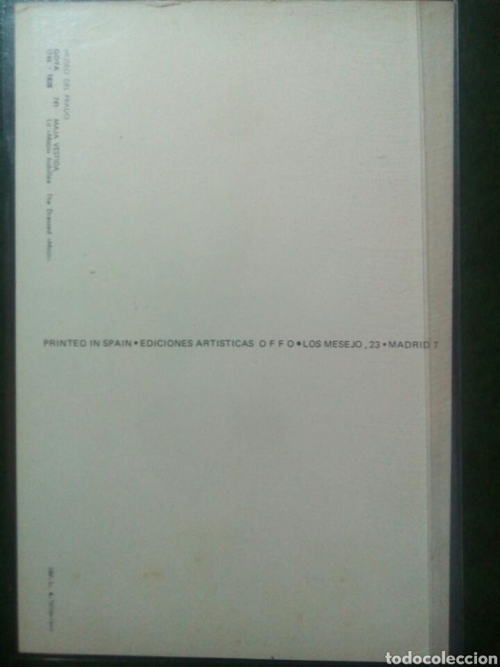 Sellos: Goya maja vestida tarjeta sello Matasellos Ajman - Foto 2 - 72401869