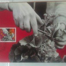 Liechtenstein 1982 tarjeta máxima tema agricultura