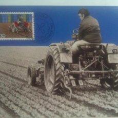 Sellos: LIECHTENSTEIN 1982 TARJETA MÁXIMA TEMA AGRICULTURA. Lote 72710895