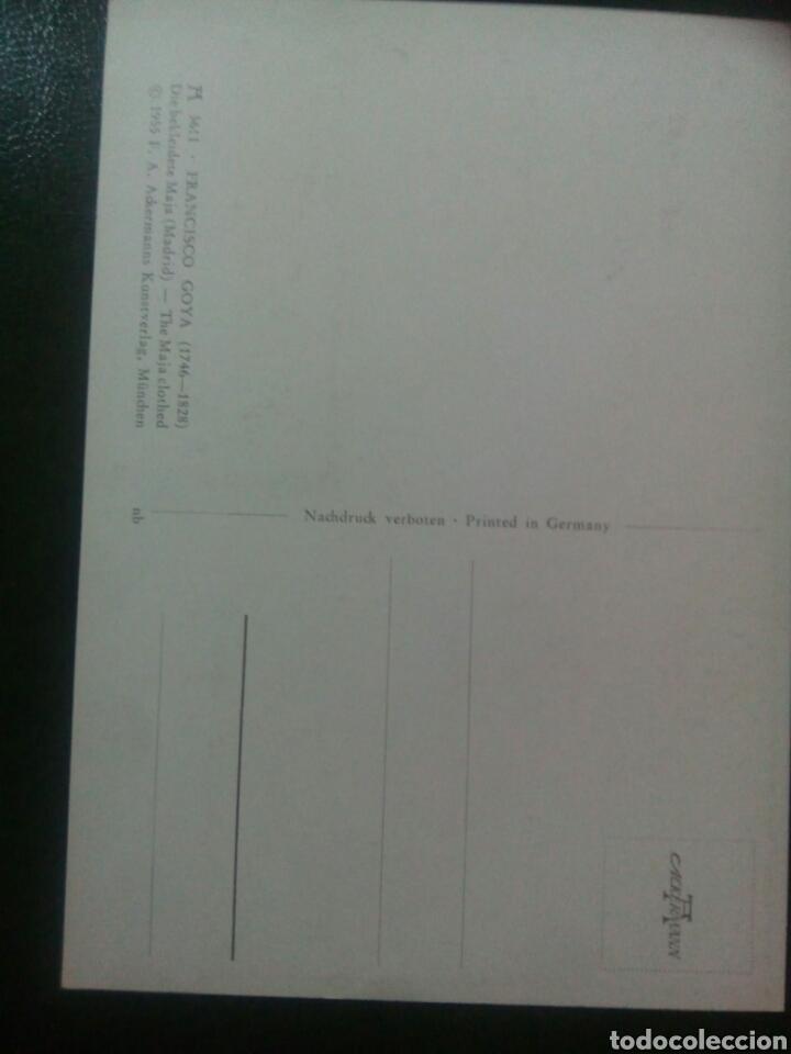 Sellos: Goya Yemen tarjeta máxima maja vestida - Foto 2 - 72914271