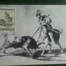 Briefmarken - Goya Austria tarjeta máxima - 72914917