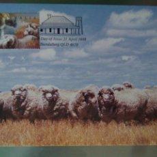 Sellos: AUSTRALIA 1998 5 TARJETAS MÁXIMAS AGRICULTURA GANADERÍA. Lote 73788422