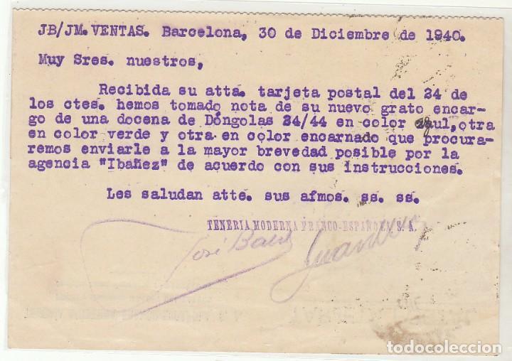 Sellos: BARCELONA a GRANADA. 1940 - Foto 2 - 73881839