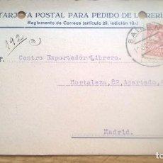 Sellos: BAILÉN. TARJETA COMERCIAL DE 1935. Lote 77501857