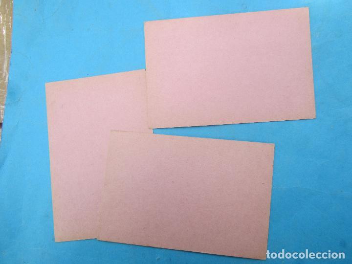 Sellos: tarjeta postal viva franco , 3 iguales , - Foto 2 - 77613033