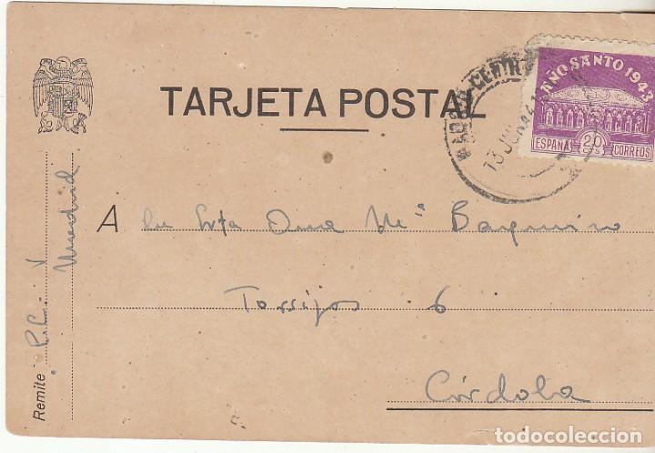 T.P. : SELLO 967. MADRID A CORDOBA. 1944. (Sellos - España - Tarjetas)