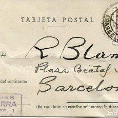 Sellos: TARJETA POSTAL-BERGA 1956. Lote 80276073