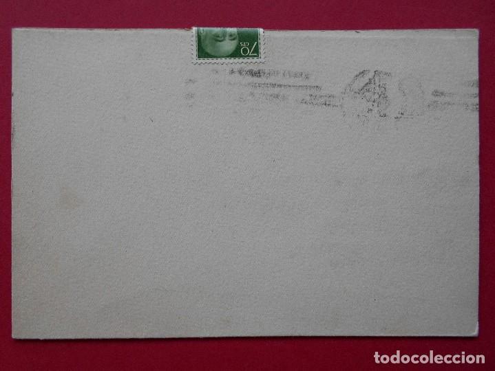 Sellos: TARJETA COMERCIAL, CUCHILLERIA PIZÁ ( BARCELONA ) - 1964 - MATASELLO RODILLO , A BILBAO .R-5744 - Foto 3 - 85485412