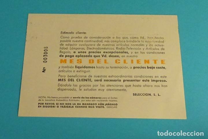 Sellos: TARJETA COMERCIAL SELECCIÓN VALENCIA 1971. SELLO SERIE BÁSICA MATASELLO DE RODILLO - Foto 2 - 86578548
