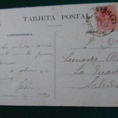Sellos: TARJETA POSTAL.COMILLAS(SANTANDER)-LA GUARDIA.. Lote 90127892