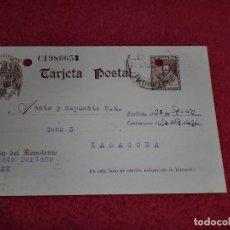 Sellos: TARJETA POSTAL ANTIGUA - AÑOS '40. Lote 100335427