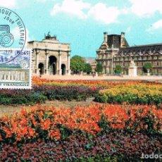 Sellos: FRANCIA IVERT 1750, CENTRO TELEFONICO DE LAS TULLERIAS (PARIS), MÁXIMA DE 15-5-1973 TELEFONO. Lote 101554923