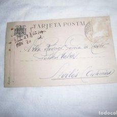 Sellos: TARJETA POSTAL CIRCULADA SIN EL SELLO . Lote 102837819