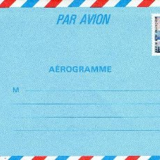 Sellos: AEROGRAMA FRANCIA. Lote 103855899
