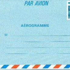 Sellos: AEROGRAMA FRANCIA. Lote 103855919