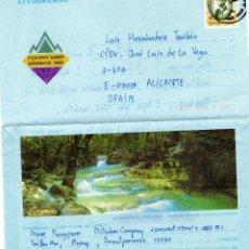 Sellos: AEROGRAMA THAILANDIA. Lote 103856439