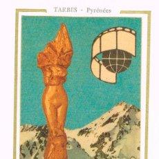 Sellos: FRANCIA IVERT 1906, FESTIVAL INTERNACIONAL DE CINE DE TURISMO DE TARBES, TARJETA MÁXIMA DE 2-10-1976. Lote 109274459